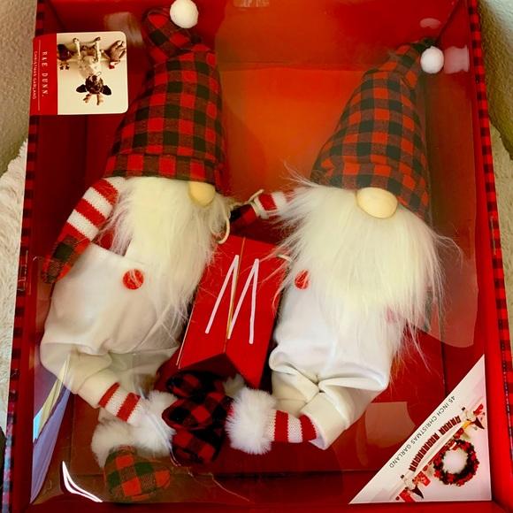 Rae Dunn Gnome Christmas Garland